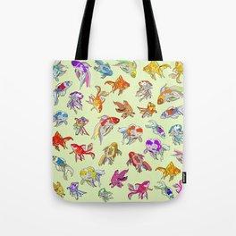 Fish Swimming in Sea Tote Bag