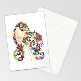 Flower Girl One Stationery Cards