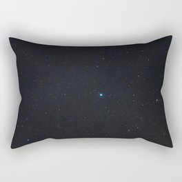 Aquila Constellation in Real Night Sky, Eagle Constellation Starry Sky Rectangular Pillow