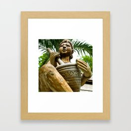 free your soul Framed Art Print