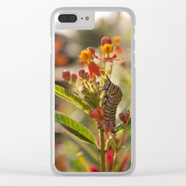 Suppertime Clear iPhone Case