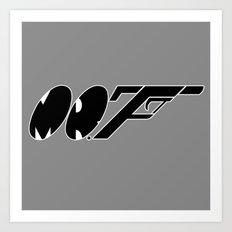 Mr. F (b) Art Print