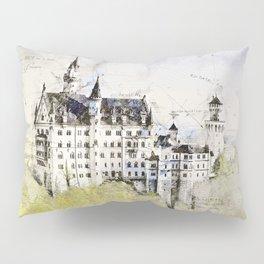 Neuschwanstein Castle, Bavaria Germany Pillow Sham