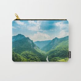 Landscape - Green Mountains  Carry-All Pouch