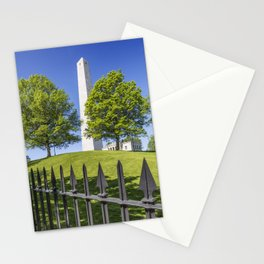 BOSTON Bunker Hill Monument Stationery Cards