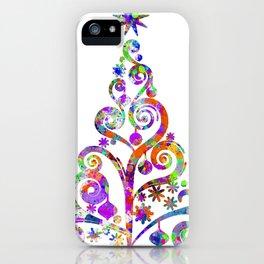 Cristmas Tree iPhone Case
