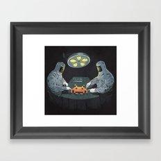 Alien Autopsy Framed Art Print