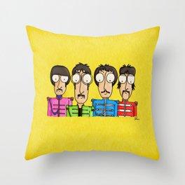 Btles fan art Throw Pillow
