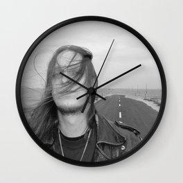 Fenriz Holy Island 3 Wall Clock