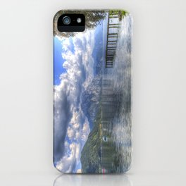 Traunsee Lake Altmunster Austria iPhone Case
