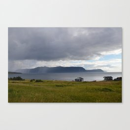 Gros Morne is over there Canvas Print