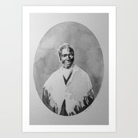 Sojourner Truth Watercolor Art Print