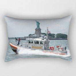 Coast Guard and Liberty Rectangular Pillow