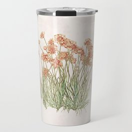 Flowering Scabiosa Travel Mug
