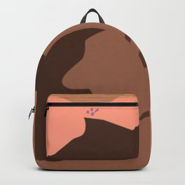 The Candor of a Dreaming Girl Backpack