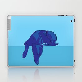 Blue/Grey hound Laptop & iPad Skin