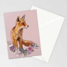 Fox Season Stationery Cards