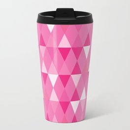 Harlequin Print Pinks Travel Mug