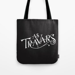 As Travars - to travel (white) Tote Bag