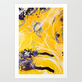 Illumination of the Shadow Caster Art Print