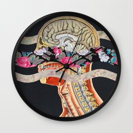 Floral Anatomy Wall Clock