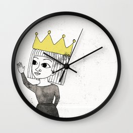Little Princess Wall Clock