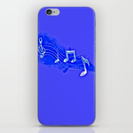 Blue Notes iPhone Skin