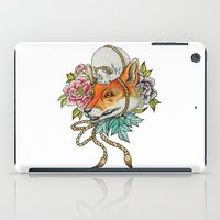 kitsune iPad Cases featuring Kitsune by Total-Cult