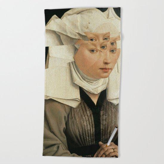 van Weyden und das Laster Beach Towel