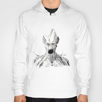 groot Hoodies featuring Groot by Myths