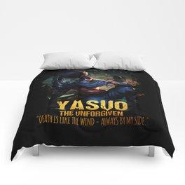 League of Legends YASUO - The Unforgiven - video games champion Comforters