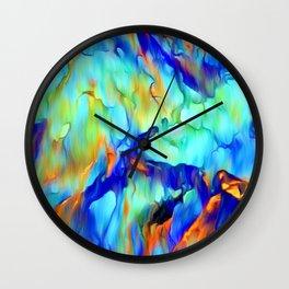 Cascading Waterfall Wall Clock