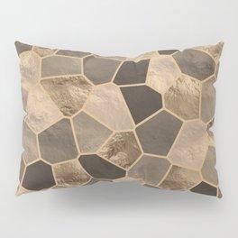 Mosaic Pattern - Golds #2 Pillow Sham