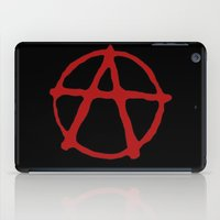sons of anarchy iPad Cases featuring Anarchy by brett66