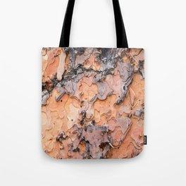 Fallen Bark rustic decor Tote Bag