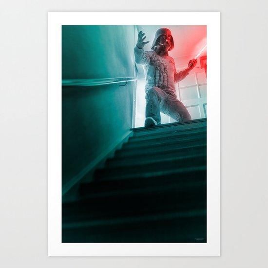 """I am no stranger to the dark side"" Art Print"