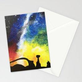 Desert Galaxy Stationery Cards