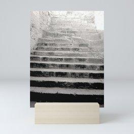 Ancient Greece Black & White Travel Photograph Mini Art Print