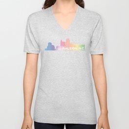 Raleigh Skyline Unisex V-Neck