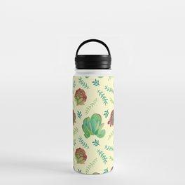 Paddle Plant Pattern Water Bottle