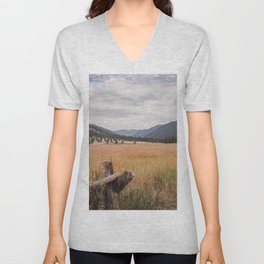 The Montana Collection - Durnam Meadow Unisex V-Neck