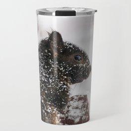 Winter Sqirrel Travel Mug