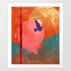 Solitary Flight Art Print