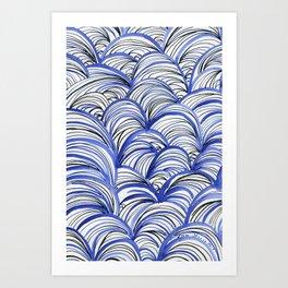Ondas Art Print