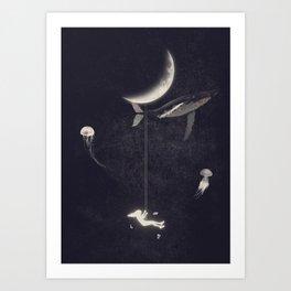 Swing Paradise Art Print