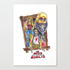 The Devils Reject's  Canvas Print