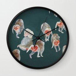 Heart shapes Wall Clock