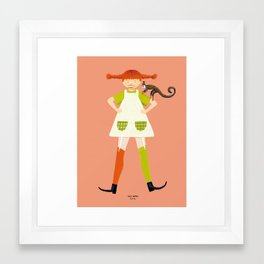 PIPPI Framed Art Print