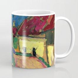 "Alexej von Jawlensky ""Landscape study - Village street"" 1908 Coffee Mug"