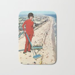 Dry Cleaning Bath Mat